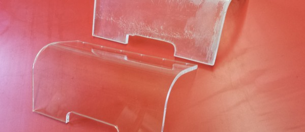 Acrylic shaped and formed to replace old panel