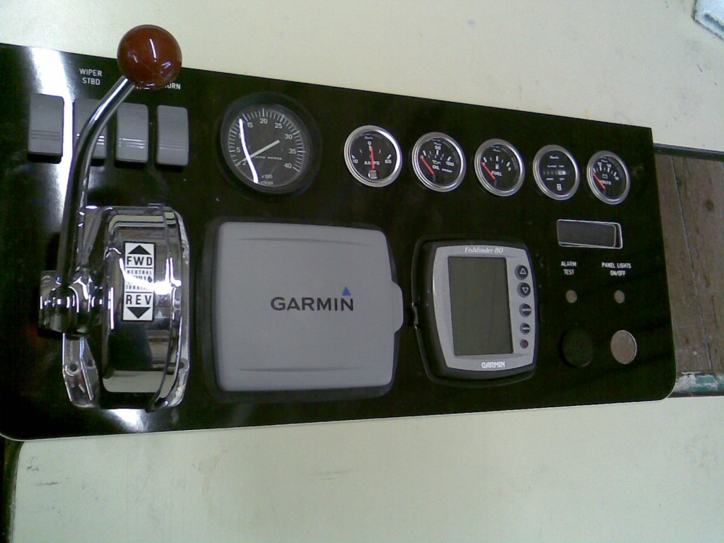 New instrument panel